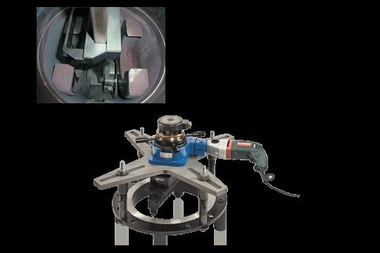 Armaturenservice, Bearbeitungsmaschinen
